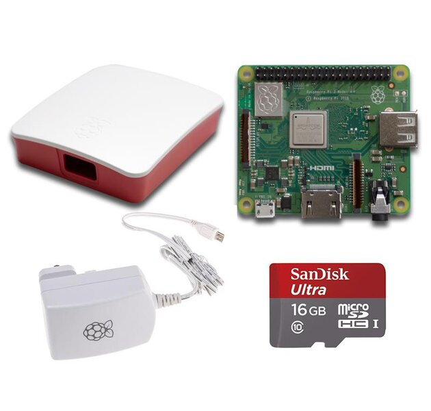 Raspberry Pi 3 A+ Bundle R/W