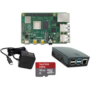 Raspberry Pi 4 Modell B Bundle offiz.Teile