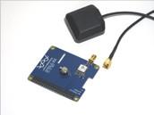 GPS Modul für RPi GPIO und aktive GPS Antenne SMA Anschluss